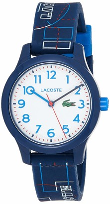 Lacoste Unisex-Child Analogue Classic Quartz Watch with Silicone Strap 2030008