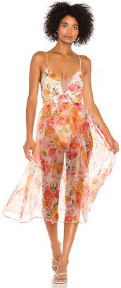 For Love & Lemons Peony Maxi Dress