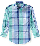 Class Club Big Boys 8-20 Large Plaid Poplin Sportshirt