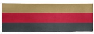 "NHS National Hockey Stripes Steel Gray Area Rug East Urban Home Rug Size: Runner 2'6"" x 8'"