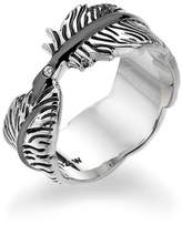 Hot Diamonds Feather Ring - Size P