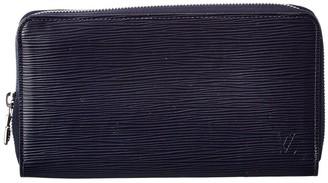 Louis Vuitton Blue Epi Leather Zippy Wallet