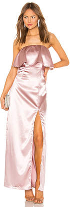 superdown Lyna Strapless Maxi Dress