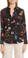 Stella McCartney Floral Print Silk Blouse