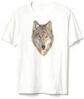 Gap Wolf graphic short sleeve tee