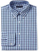 Classic Men's Tailored Fit 40s Poplin Dress Shirt-Ivory Multi Dots