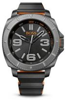 HUGO BOSS 1513109 Silicone Strap 3-Hand Quartz Sao Paulo Watch One Size Assorted-Pre-Pack