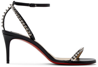 Christian Louboutin Black So Me Studded Heeled Sandals