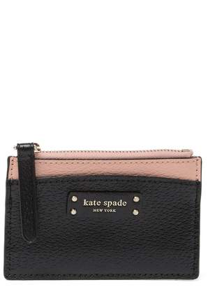 Kate Spade Jeanne Small Zip Leather Card Holder