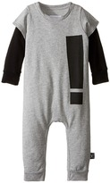 Nununu Extra Soft French Terry Exclamation Playsuit (Infant)