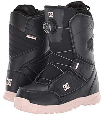 DC Search BOA(r) Snowboard Boots (Black) Women's Snow Shoes