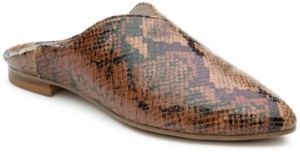 Sanctuary Saieda Crashback Flat Mules Women's Shoes