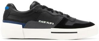 Diesel low top mesh panel sneakers