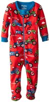Hatley Footed Coveralls (Baby) - Farm Tractors-3-6 Months