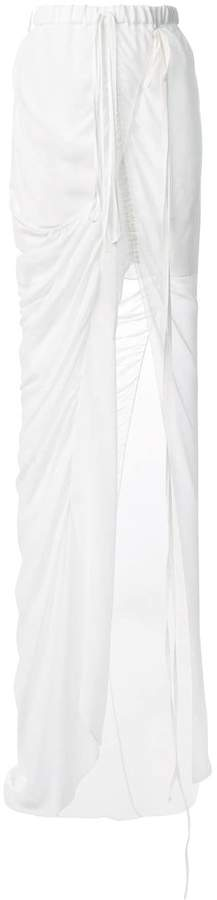 Vera Wang draped skirt
