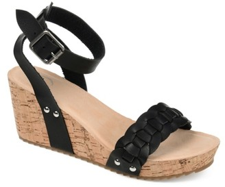 Journee Collection Brynklee Wedge Sandal