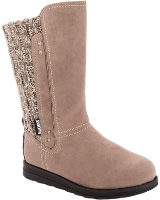 Muk Luks Women's Faux Suede Boots - Stacy