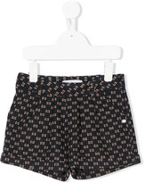 Tartine et Chocolat printed shorts - kids - Cotton/Acrylic/Polyamide/Wool - 6 yrs