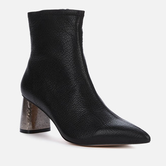 Kurt Geiger Women's Rio Leather Heeled Ankle Boots