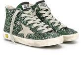 Golden Goose Deluxe Brand Kids Francy Maxi hi-top sneakers
