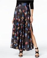 Catherine Malandrino Floral-Print Maxi Skirt