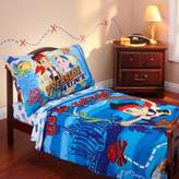 Disney Jake and Neverland Piirates 4-Piece Toddler Bedding Set