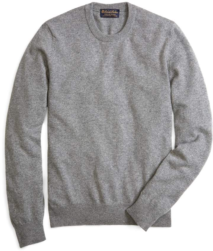Brooks Brothers Cashmere Crewneck Sweater-Basic Colors