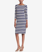 Lauren Ralph Lauren Petite Striped Metallic Sweater Dress