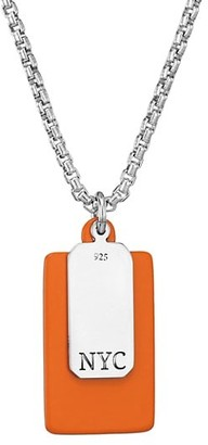 Jonas Studio Stainless Steel Dog Tag Necklace