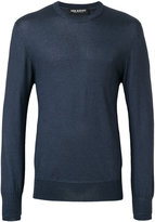 Neil Barrett round neck jumperlong sl