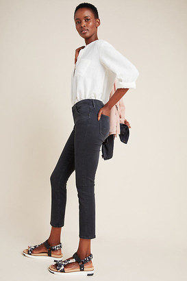 AG Jeans Prima Low-Rise Skinny Jeans By in Black Size 25