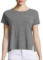 Amo Essential Twist Short Sleeve T-Shirt
