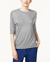 DKNY Elbow-Sleeve Sweater