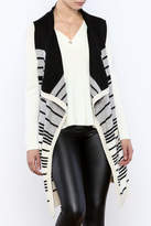BB Dakota Striped Duster Vest