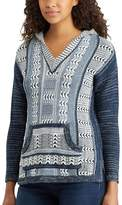 Chaps Women's Marled Hooded Sweater