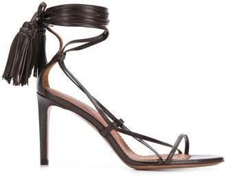 L'Autre Chose Strappy Ankle-Tie Sandals