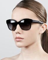 Stella McCartney Large Square Sunglasses, Blue