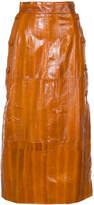 Roksanda panelled midi skirt