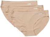 AQS Sunglasses Seamless Bikini Cut Panty - Pack of 3