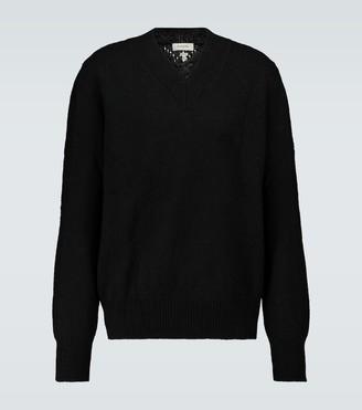 Rochas Wool V-neck sweater