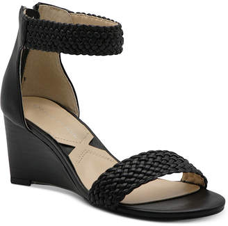 Adrienne Vittadini Pepper Wedge Sandals Women Shoes