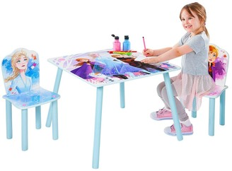 Disney Frozen Kids Table and 2 Chairs by HelloHome