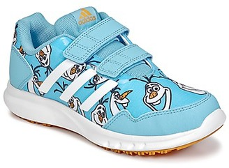adidas DISNEY REINE DES NEIGES CF C girls's Shoes (Trainers) in Blue