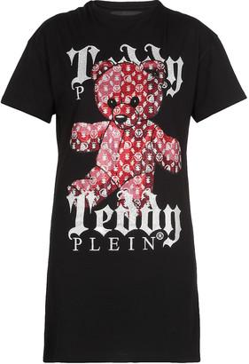 Philipp Plein Mini Dress Teddy Bear