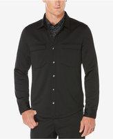 Perry Ellis Men's Avalon Knit Shirt-Jacket