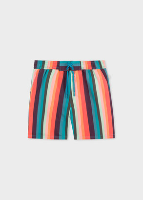 Paul Smith 2-6 Years 'Artist Stripe' Swim Shorts