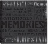 """MCS MBI by Embossed """"Memories"""" Gloss Expressions Top Load Scrapbook"""