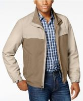 Perry Ellis Men's Big & Tall Micro Color Block Jacket