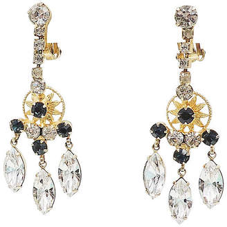 One Kings Lane Vintage Delizza & Elster Chandelier Earrings - Carrie's Couture