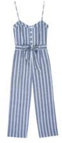 Rails Harper Jumpsuit Normandy Stripe - xsmall